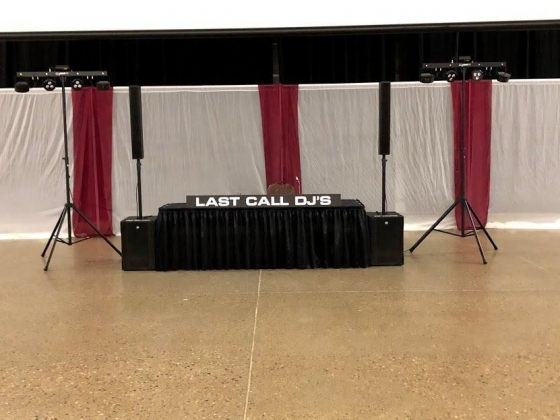 Wedding reception entertainment with Last Call DJ's Norfolk, Nebraska